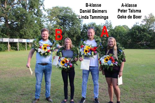 Winnaars A en B Klasse PK2019WEB